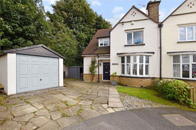 Thumbnail Semi-detached house for sale in Hillcrest, Scatcherd Park Avenue, Morley, Leeds