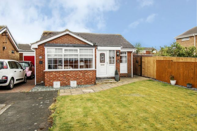 Thumbnail 2 bed detached bungalow for sale in Porchester Drive, Cramlington, Northumberland