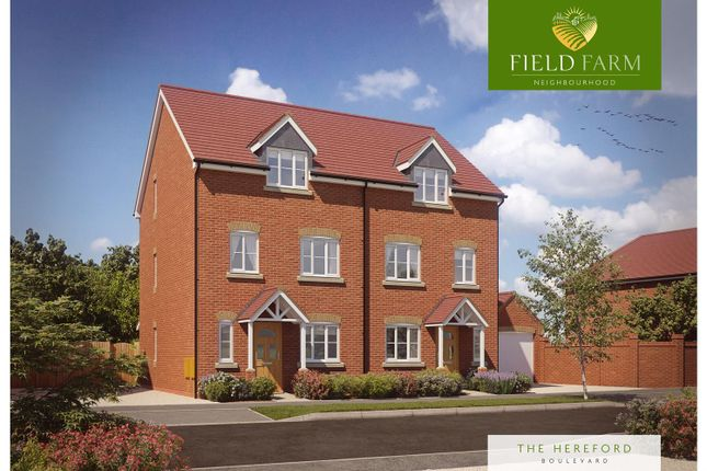 Thumbnail Semi-detached house for sale in The Hereford, Field Farm, Stapleford