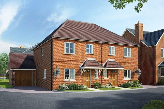 Thumbnail Semi-detached house for sale in Fleet Road, Hartley Wintney, Hook, Hampshire