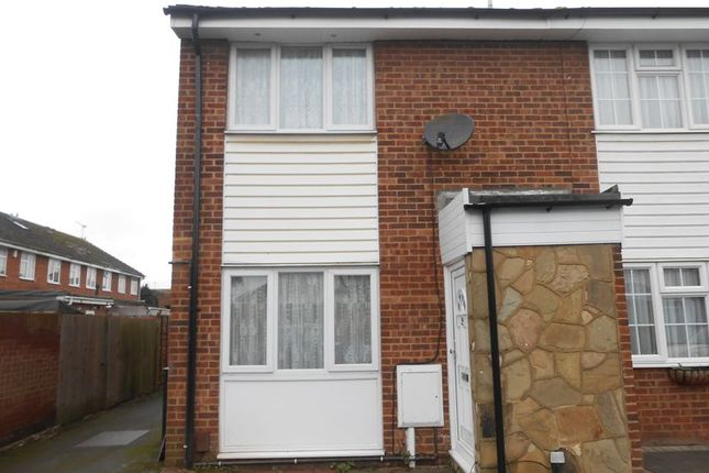 Thumbnail Terraced house to rent in Torridge Road, Langley, Slough