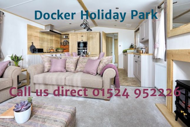 Thumbnail Lodge for sale in Docker Holiday Park, Carnforth