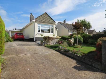 Thumbnail Detached bungalow for sale in Morcom Close, St. Austell