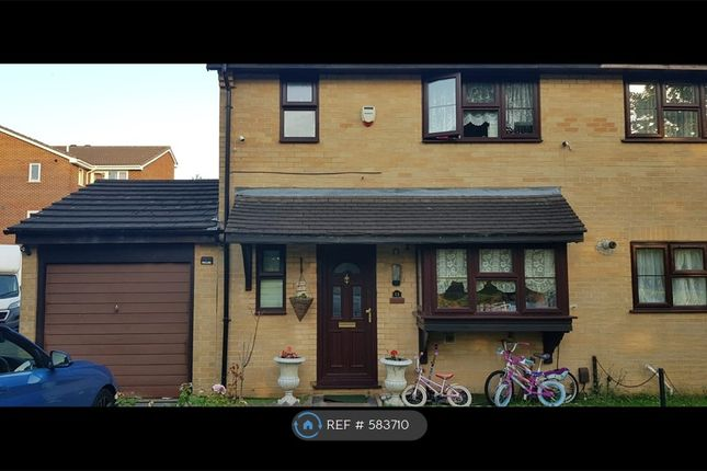 Thumbnail End terrace house to rent in Thorpland Avenue, Ickenham, Uxbridge