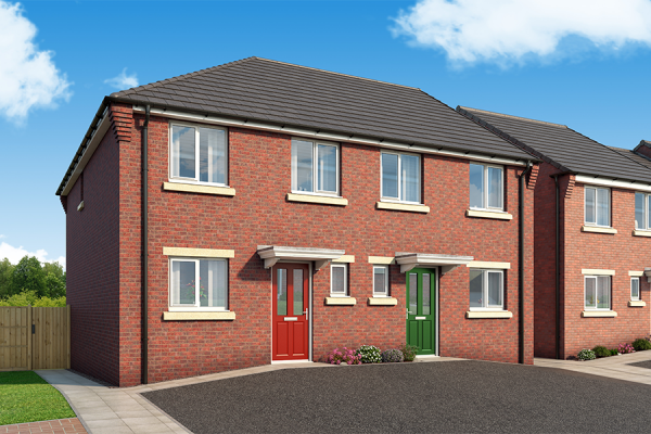 """Thumbnail Property for sale in """"The Clarendon At Derwent Heights"""" at Derwent Heights, Dunston"""
