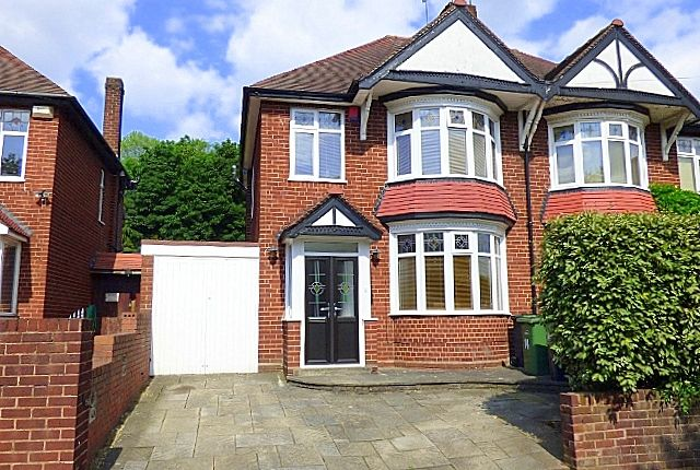 Thumbnail Semi-detached house for sale in Haden Hill Road, Halesowen