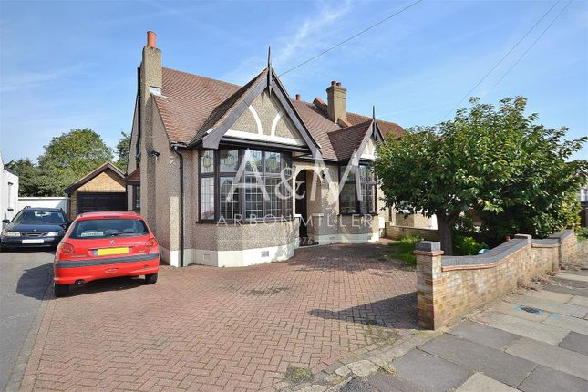 Thumbnail Semi-detached bungalow for sale in Trenance Gardens, Ilford