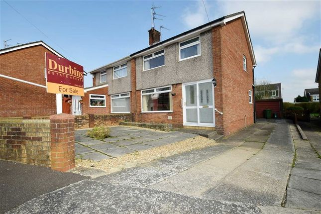 Thumbnail Semi-detached house for sale in Pembroke Close, Tonteg, Pontypridd