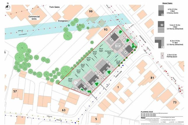 Thumbnail Land for sale in Stapleton Lane, Barwell, Leicester