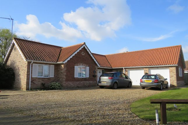 Thumbnail Detached bungalow for sale in Babingley Place, West Winch, King's Lynn
