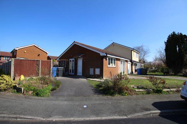 Thumbnail Detached bungalow to rent in Montrose Close, Fearnhead, Warrington