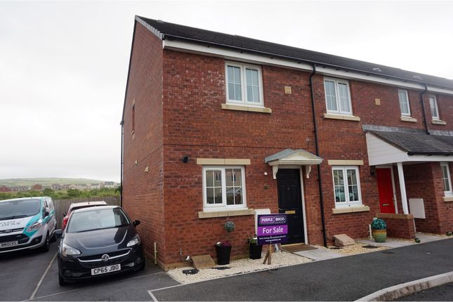2 bed end terrace house for sale in Heol Waunhir, Trimsaran