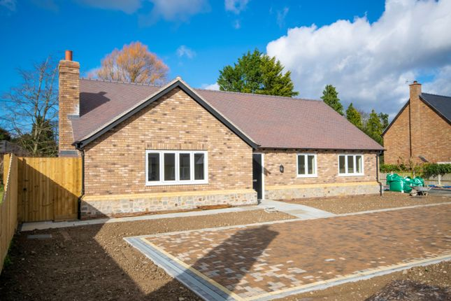 Thumbnail Detached bungalow for sale in Westbury, Shrewsbury