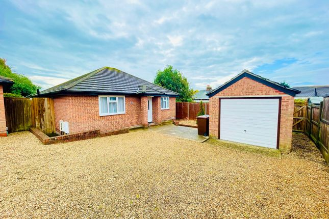 Thumbnail Detached bungalow for sale in Howe Close, Colchester