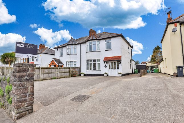 Thumbnail Semi-detached house for sale in Thornhill Road, Rhiwbina, Cardiff