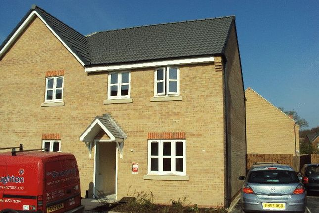 Thumbnail Semi-detached house to rent in Maximus Road, North Hykeham