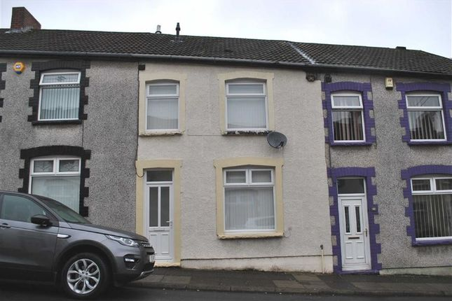 Thumbnail Terraced house to rent in West Street, Bargoed