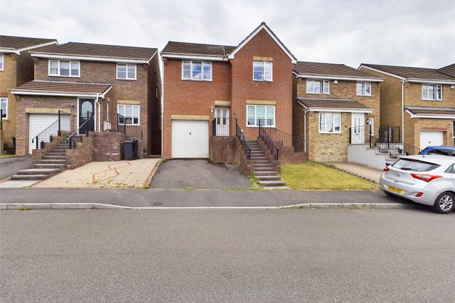Thumbnail Detached house for sale in Hawthorn Drive, Merthyr Tydfil