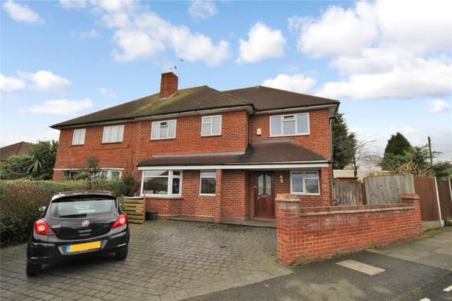 Thumbnail Semi-detached house for sale in Blenheim Drive, Welling, Kent