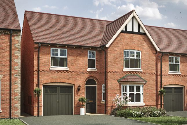 "4 bed detached house for sale in ""The Featherstone Victorian 4th Edition"" at Spring Avenue, Ashby-De-La-Zouch LE65"