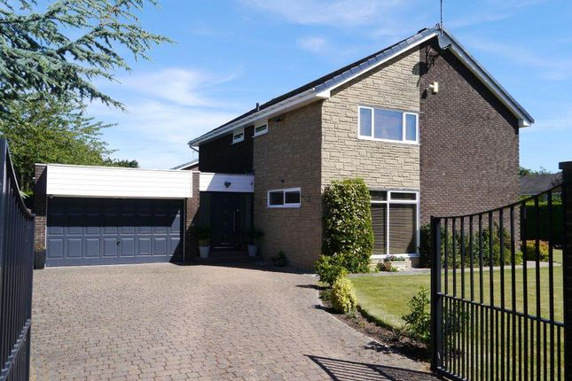 Thumbnail Detached house for sale in Hadrian Court, Ponteland, Newcastle Upon Tyne