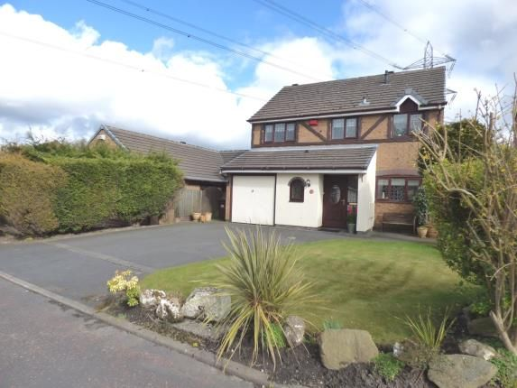 Thumbnail Detached house for sale in Turner Avenue, Lostock Hall, Preston, Lancashire