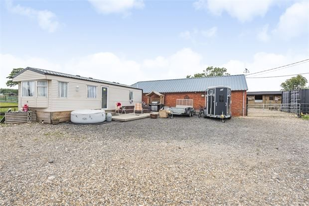 Thumbnail Equestrian property for sale in Marstonfields, North Marston, Buckinghamshire.