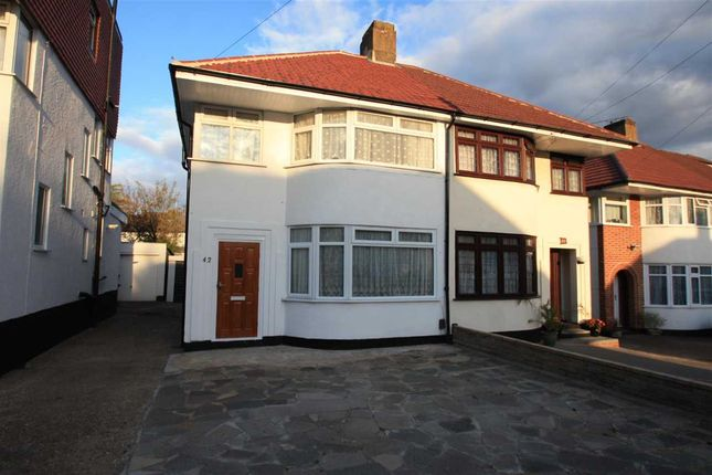Thumbnail Semi-detached house for sale in Mountbel Road, Stanmore
