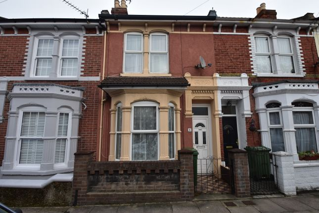 Thumbnail Terraced house to rent in Seagrove Road, Portsmouth