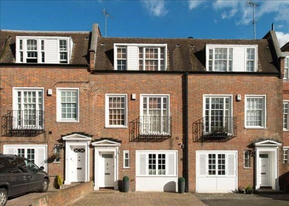 Town house to rent in Marston Close, Off Fairfax Rd, London