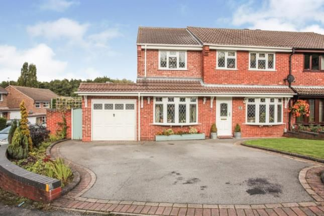 Thumbnail Semi-detached house for sale in Merganser, Wilnecote, Tamworth, Staffordshire