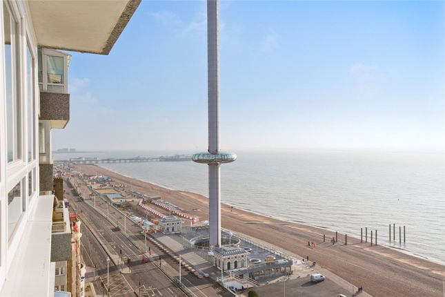 Thumbnail Flat for sale in Bedford Towers, Kings Road, Brighton, East Sussex