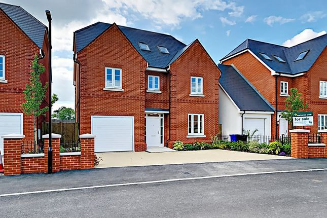 Thumbnail Detached house for sale in Redfields Lane, Church Crookham, Fleet