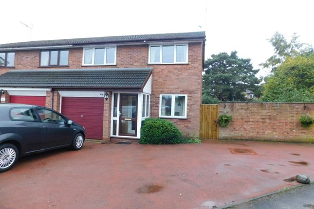 Thumbnail Semi-detached house for sale in Rectory Close, Wistaston, Crewe