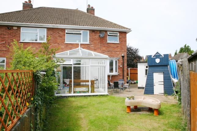 Rear Views of Armson Avenue, Kirby Muxloe, Leicester, Leicestershire LE9