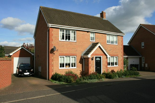 Thumbnail Detached house for sale in Tantallon Drive, Attleborough