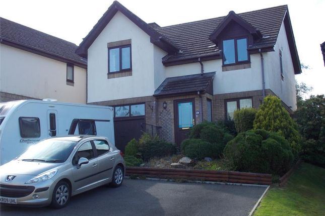 Thumbnail Detached house for sale in Pengover Heights, Liskeard