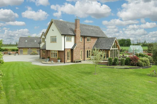 Thumbnail Detached house for sale in Wigginton, Tamworth, Staffordshire
