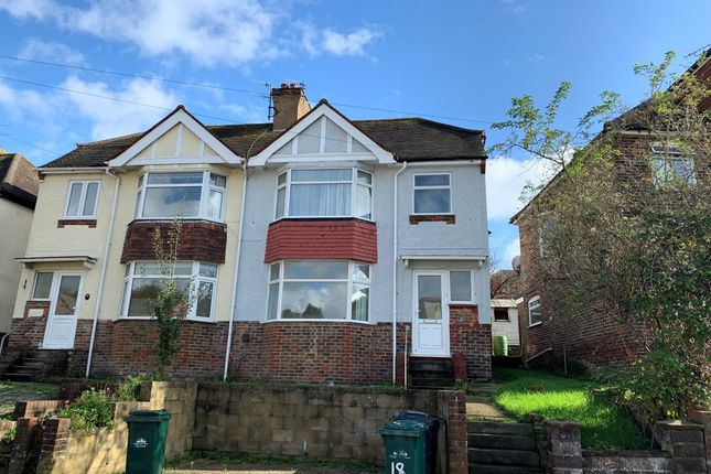 Thumbnail Terraced house to rent in Lower Bevendean Avenue, Brighton