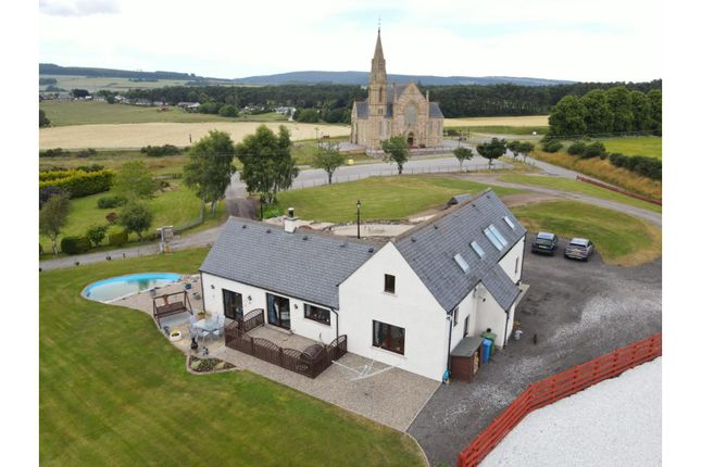 Thumbnail Detached house for sale in Achnagarron, Invergordon