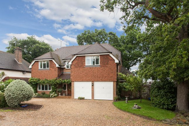 Thumbnail Detached house for sale in Wey Manor Road, New Haw, Addlestone