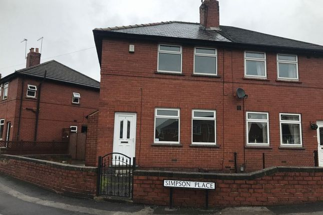 Thumbnail Semi-detached house to rent in Simpson Place, Mexborough