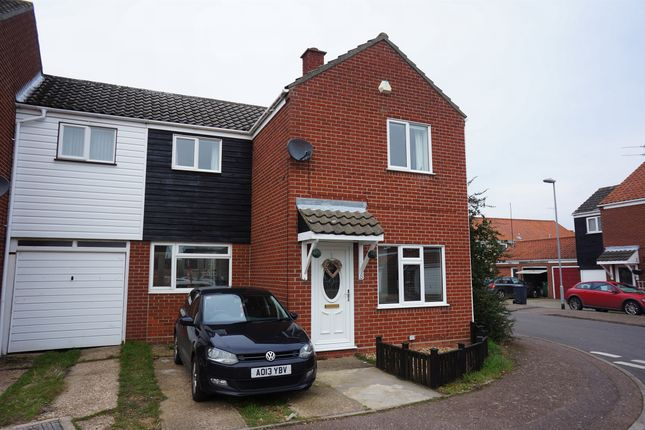 Thumbnail End terrace house for sale in Clark Road, Ditchingham, Bungay