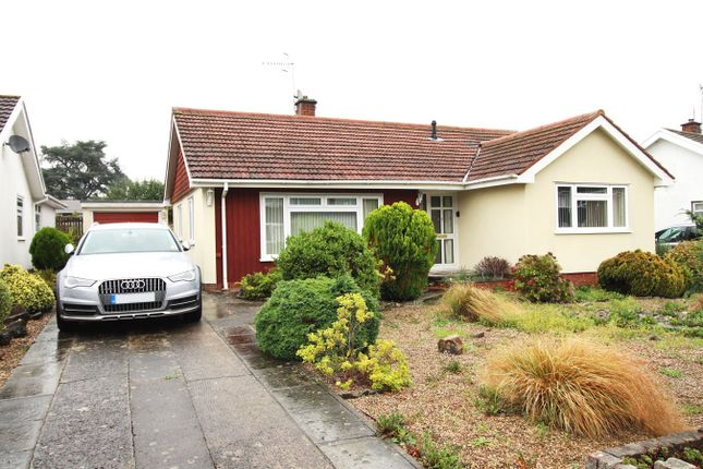 Thumbnail Detached bungalow for sale in Hafod Road, Ponthir, Newport