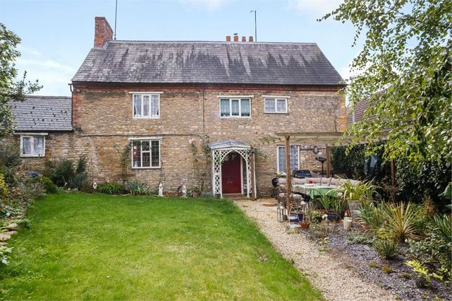 Thumbnail Link-detached house for sale in High Street, Wollaston, Wellingborough, Northamptonshire