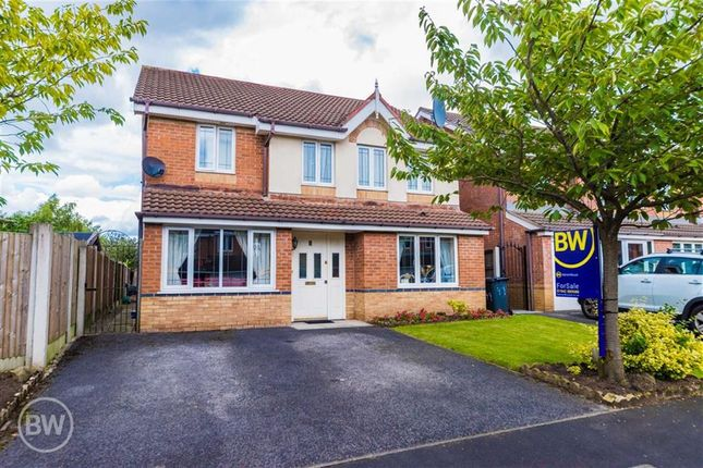 Thumbnail Detached house for sale in Peel Hall Avenue, Tyldesley, Manchester