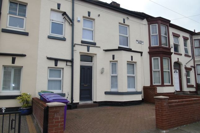 Thumbnail Terraced house to rent in Wellfield Road, Walton