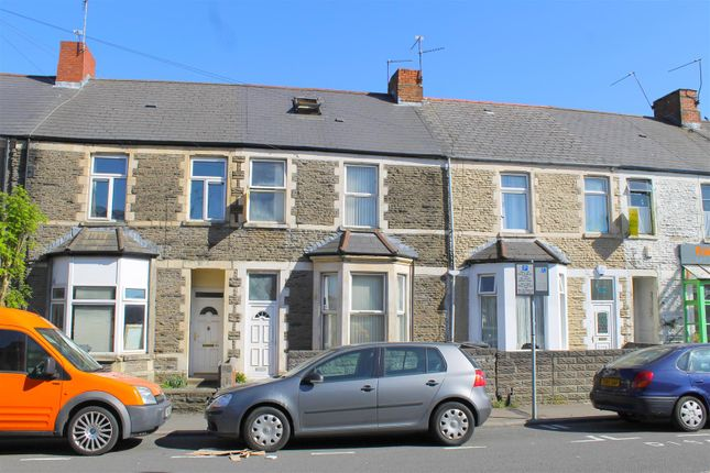 Thumbnail Terraced house for sale in Woodville Road, Cathays, Cardiff