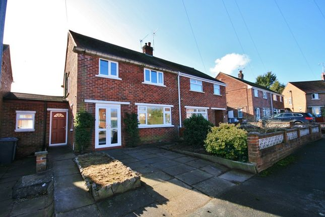 Thumbnail Semi-detached house to rent in Blagg Avenue, Nantwich