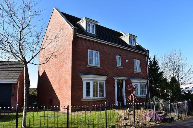 Thumbnail Detached house for sale in Waterton Close, Waterton, Bridgend.